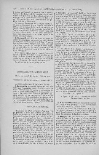 Tome 37 : Du 2 au 28 janvier 1792 - page 726