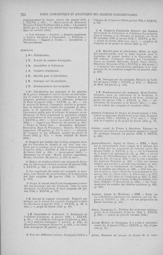 Tome 37 : Du 2 au 28 janvier 1792 - page 754