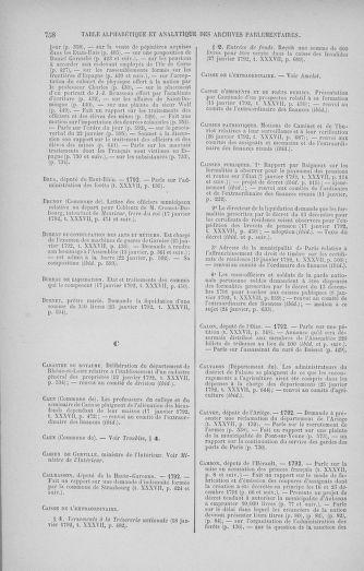 Tome 37 : Du 2 au 28 janvier 1792 - page 758
