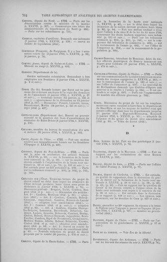 Tome 37 : Du 2 au 28 janvier 1792 - page 764