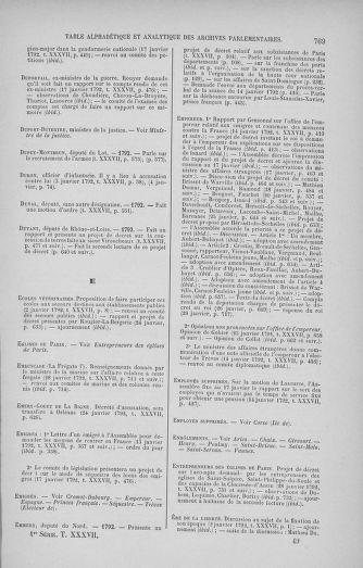 Tome 37 : Du 2 au 28 janvier 1792 - page 769