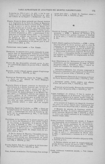 Tome 37 : Du 2 au 28 janvier 1792 - page 771