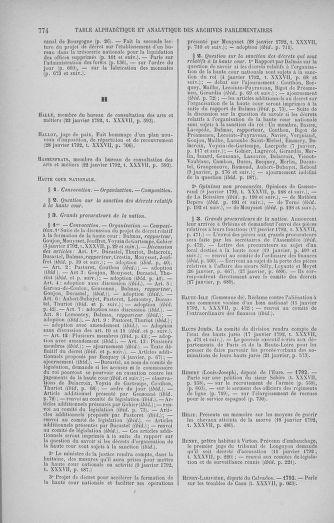 Tome 37 : Du 2 au 28 janvier 1792 - page 774