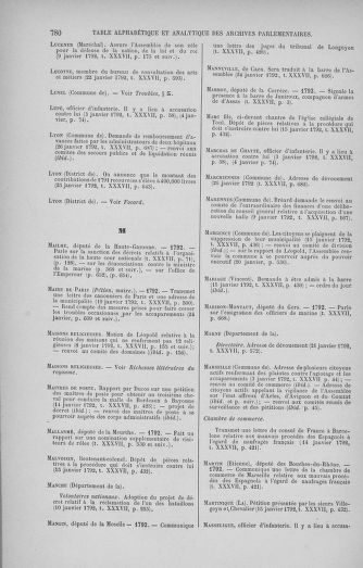 Tome 37 : Du 2 au 28 janvier 1792 - page 780