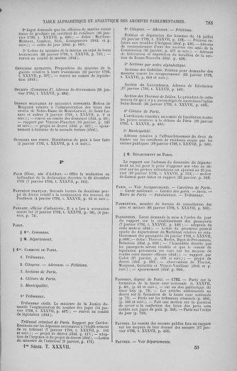Tome 37 : Du 2 au 28 janvier 1792 - page 785