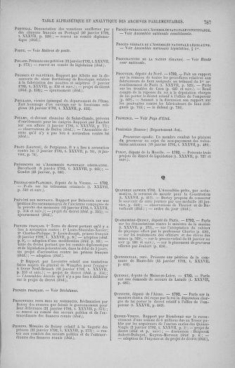 Tome 37 : Du 2 au 28 janvier 1792 - page 787