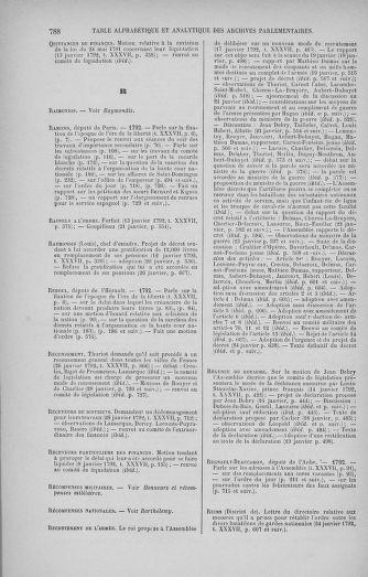 Tome 37 : Du 2 au 28 janvier 1792 - page 788