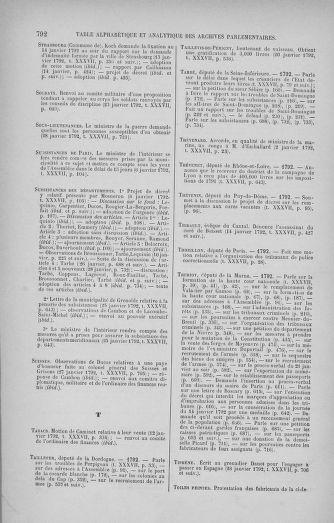 Tome 37 : Du 2 au 28 janvier 1792 - page 792