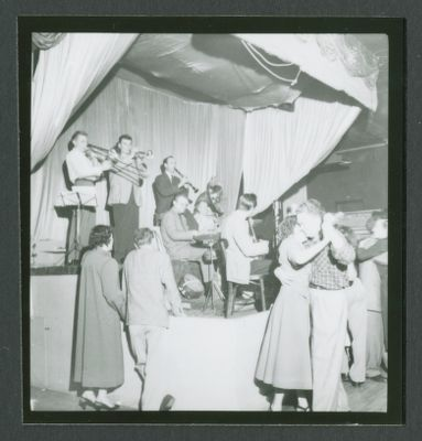 Yerba Buena Jazz Band at Hambone Kelly's with dancers