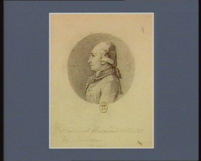 Monsieur d'Hareneder, vicomte de Macaye [dessin]