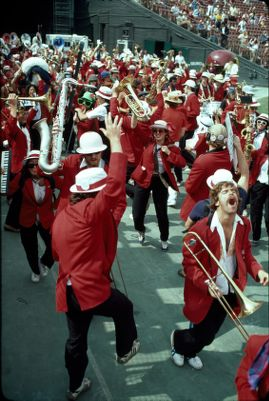 Leland Stanford Junior University Marching Band, Stanford at USC football game, October 13, 1979