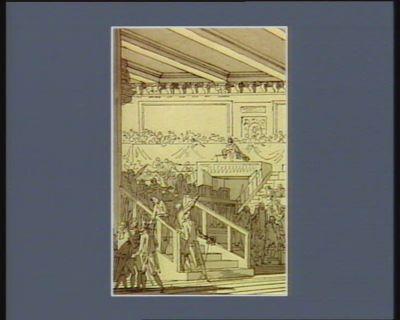 [Evénement du vingt-trois novembre 1790] [dessin]