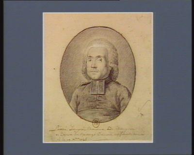 L' Abbé Lompré chanoine de Champville et député du baillage d'Amont en Franche Comté né le 19 X.bre 1745 : [dessin]