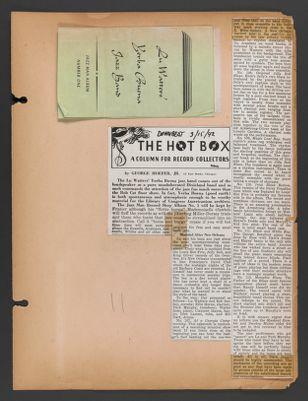 Turk Murphy Scrapbook 1934-1943