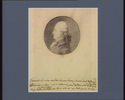 Benoist Nicolas Wolter de Neurbourg maréchal de camps, et armées du Roi, né à Cattenom, prev.té de Thionville le 16 juillet 1726 député des bailliages de Thionville etc aux Etat g.n.aux de 1789 : [dessin]
