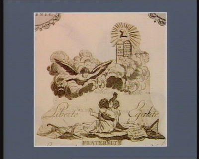 Liberté, Egalité, Fraternité abolition de <em>la</em> <em>royauté</em> : [estampe]