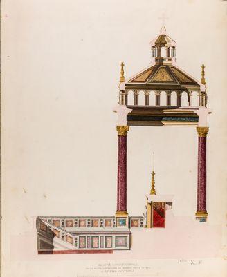 Chiesa di S. Pietro in Vinculis. Confessione, fianco