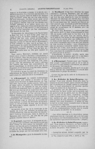 Tome 27 : Du 6 juin au 5 juillet 1791 - page 4