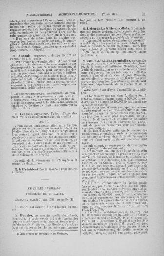 Tome 27 : Du 6 juin au 5 juillet 1791 - page 19