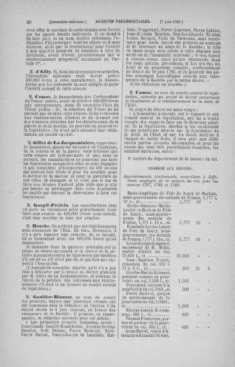 Tome 27 : Du 6 juin au 5 juillet 1791 - page 20