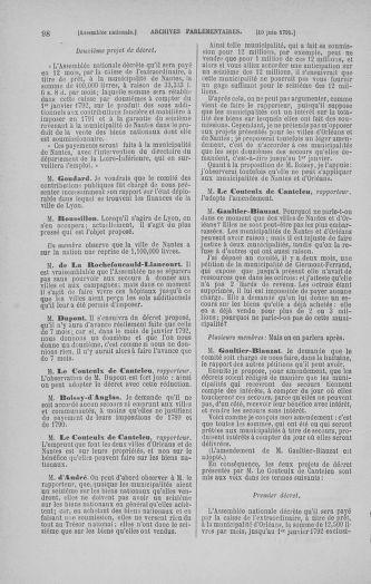 Tome 27 : Du 6 juin au 5 juillet 1791 - page 98