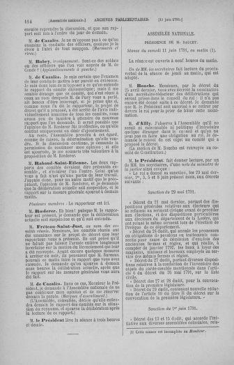 Tome 27 : Du 6 juin au 5 juillet 1791 - page 114