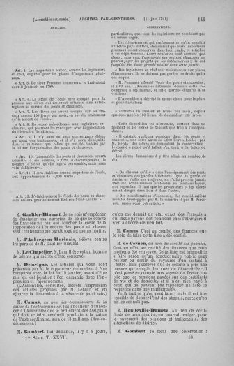 Tome 27 : Du 6 juin au 5 juillet 1791 - page 145