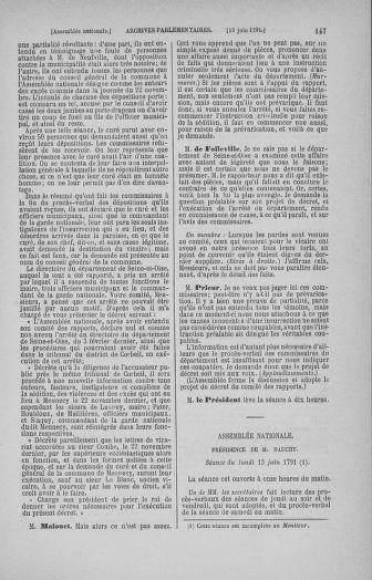 Tome 27 : Du 6 juin au 5 juillet 1791 - page 147