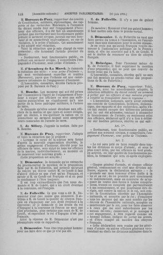 Tome 27 : Du 6 juin au 5 juillet 1791 - page 148