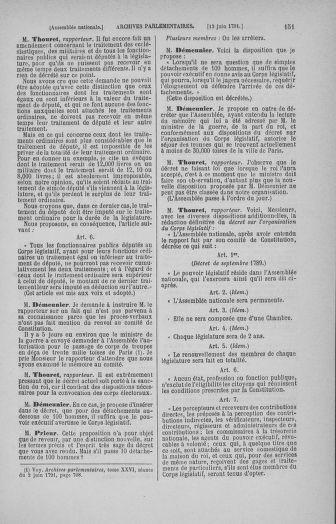 Tome 27 : Du 6 juin au 5 juillet 1791 - page 151