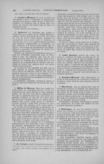 Tome 27 : Du 6 juin au 5 juillet 1791 - page 236