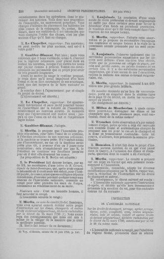 Tome 27 : Du 6 juin au 5 juillet 1791 - page 238