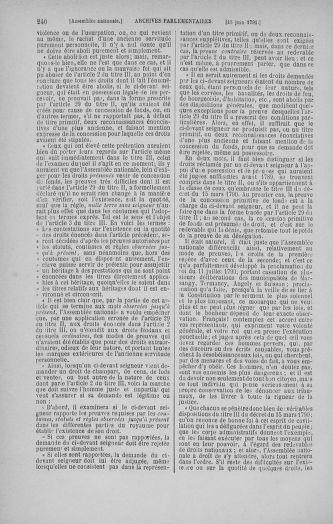 Tome 27 : Du 6 juin au 5 juillet 1791 - page 240
