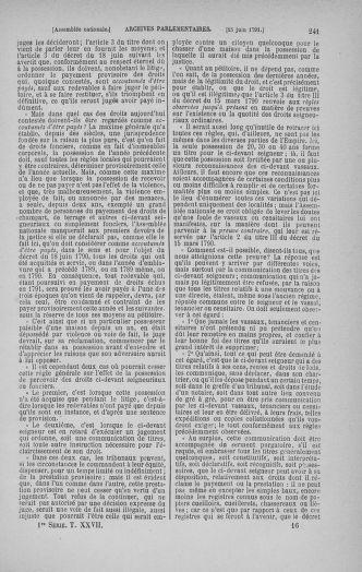 Tome 27 : Du 6 juin au 5 juillet 1791 - page 241