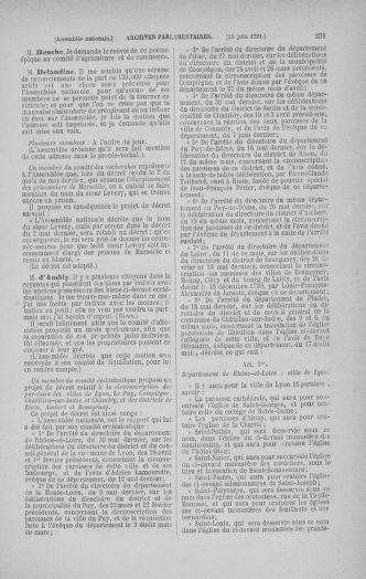 Tome 27 : Du 6 juin au 5 juillet 1791 - page 251