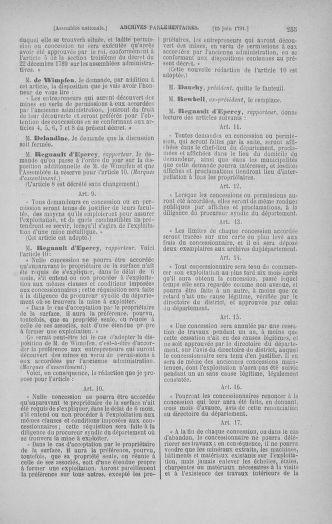 Tome 27 : Du 6 juin au 5 juillet 1791 - page 255