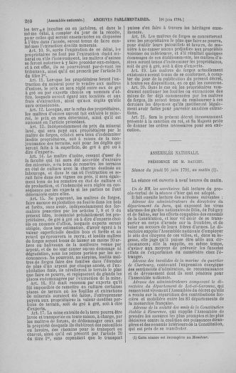 Tome 27 : Du 6 juin au 5 juillet 1791 - page 260