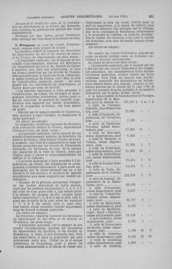 Tome 27 : Du 6 juin au 5 juillet 1791 - page 261