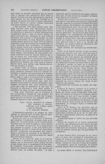 Tome 27 : Du 6 juin au 5 juillet 1791 - page 278