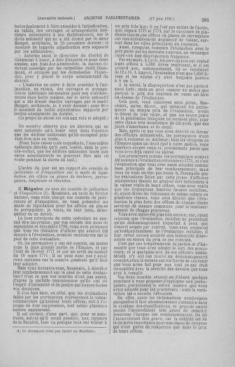 Tome 27 : Du 6 juin au 5 juillet 1791 - page 285