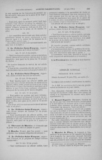 Tome 27 : Du 6 juin au 5 juillet 1791 - page 299