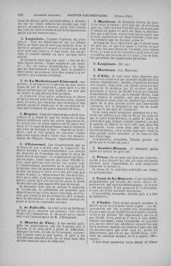 Tome 27 : Du 6 juin au 5 juillet 1791 - page 300