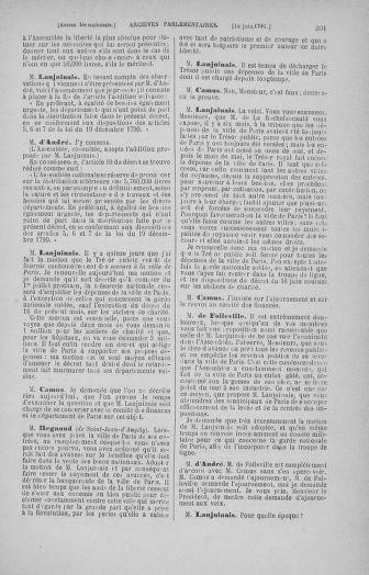 Tome 27 : Du 6 juin au 5 juillet 1791 - page 301