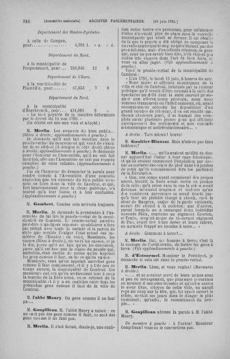 Tome 27 : Du 6 juin au 5 juillet 1791 - page 316