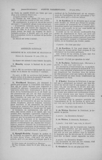 Tome 27 : Du 6 juin au 5 juillet 1791 - page 330