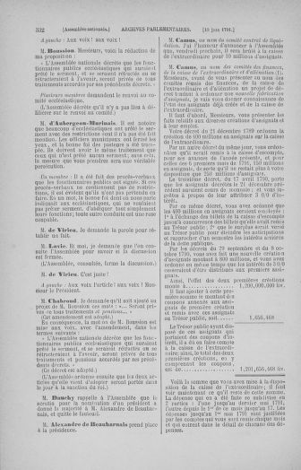 Tome 27 : Du 6 juin au 5 juillet 1791 - page 332