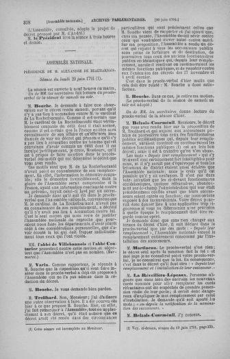 Tome 27 : Du 6 juin au 5 juillet 1791 - page 338
