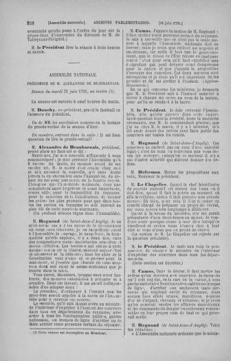 Tome 27 : Du 6 juin au 5 juillet 1791 - page 358
