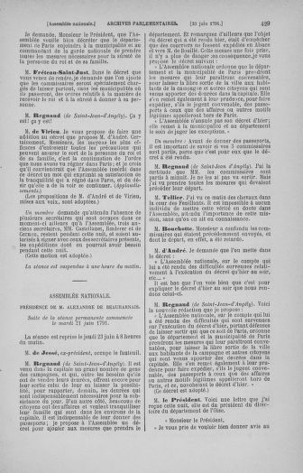 Tome 27 : Du 6 juin au 5 juillet 1791 - page 429