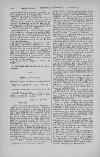 Tome 27 : Du 6 juin au 5 juillet 1791 - page 562
